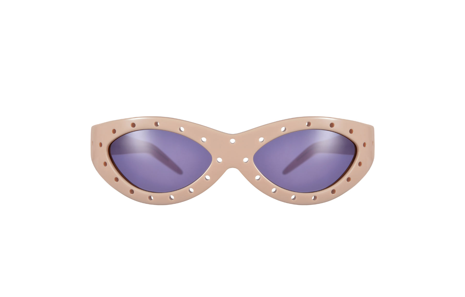 FAKBYFAK x Walter Van Beirendonck  Toy Glasses Model 1. Light brown with coloured pins Code: FBF-09-01-03