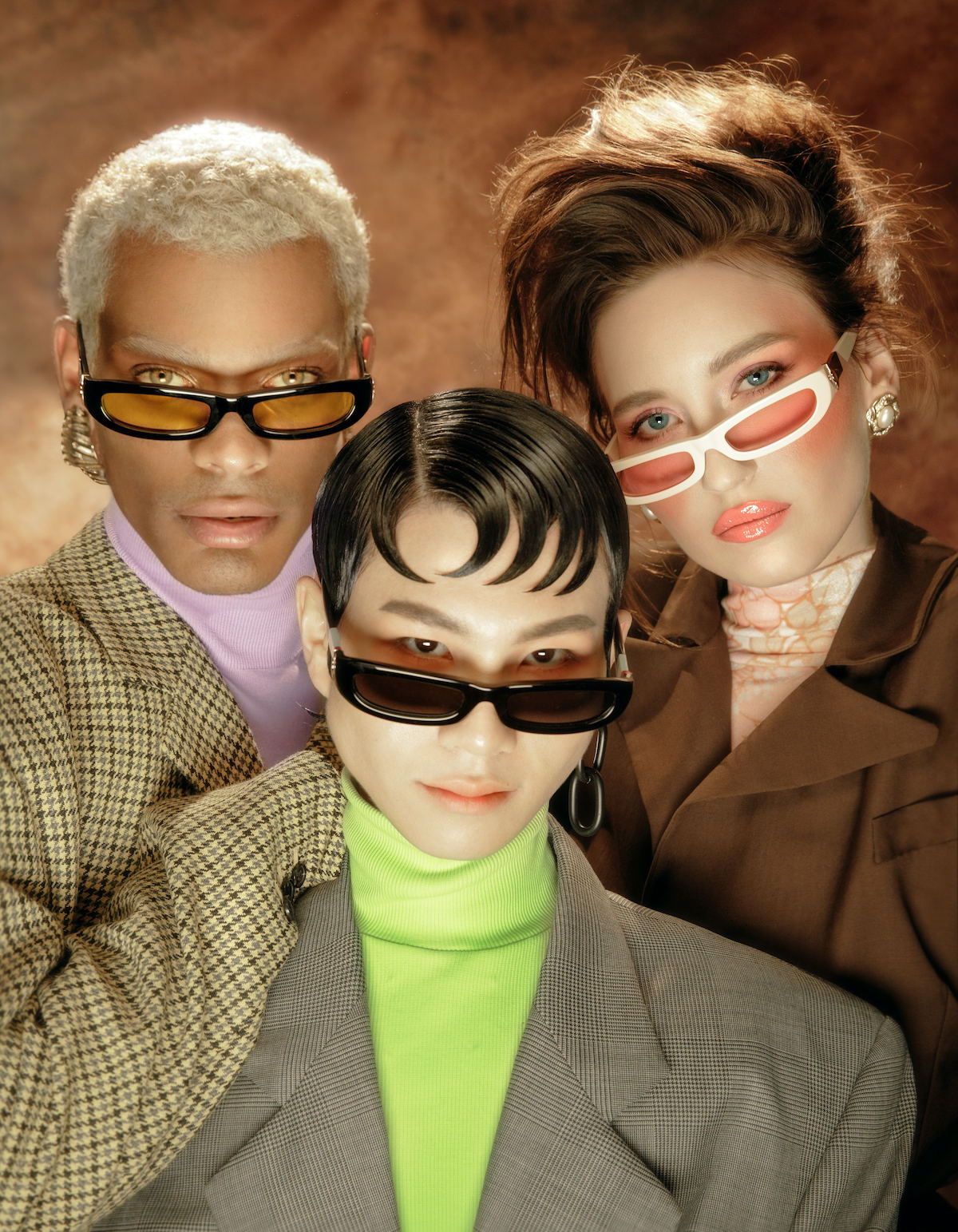 FAKBYFAK x Pilar Zeta  SHARP. Sunglasses. Classic Glossy Black Code: FBF-14-01-01
