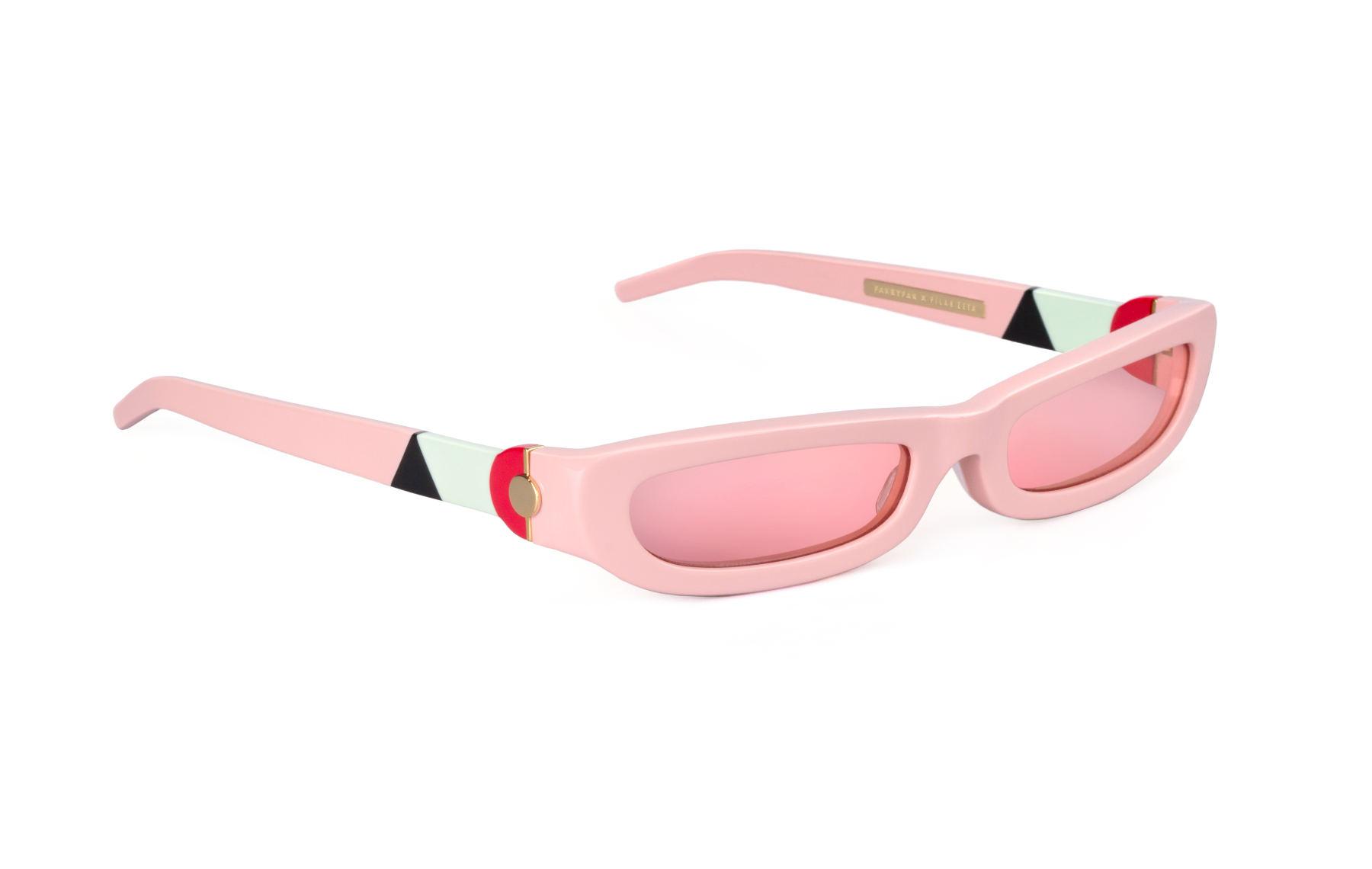 FAKBYFAK x Pilar Zeta  SHARP. Sunglasses. Glossy Pink Code: FBF-14-01-05