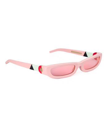 SHARP. Sunglasses. Glossy Pink