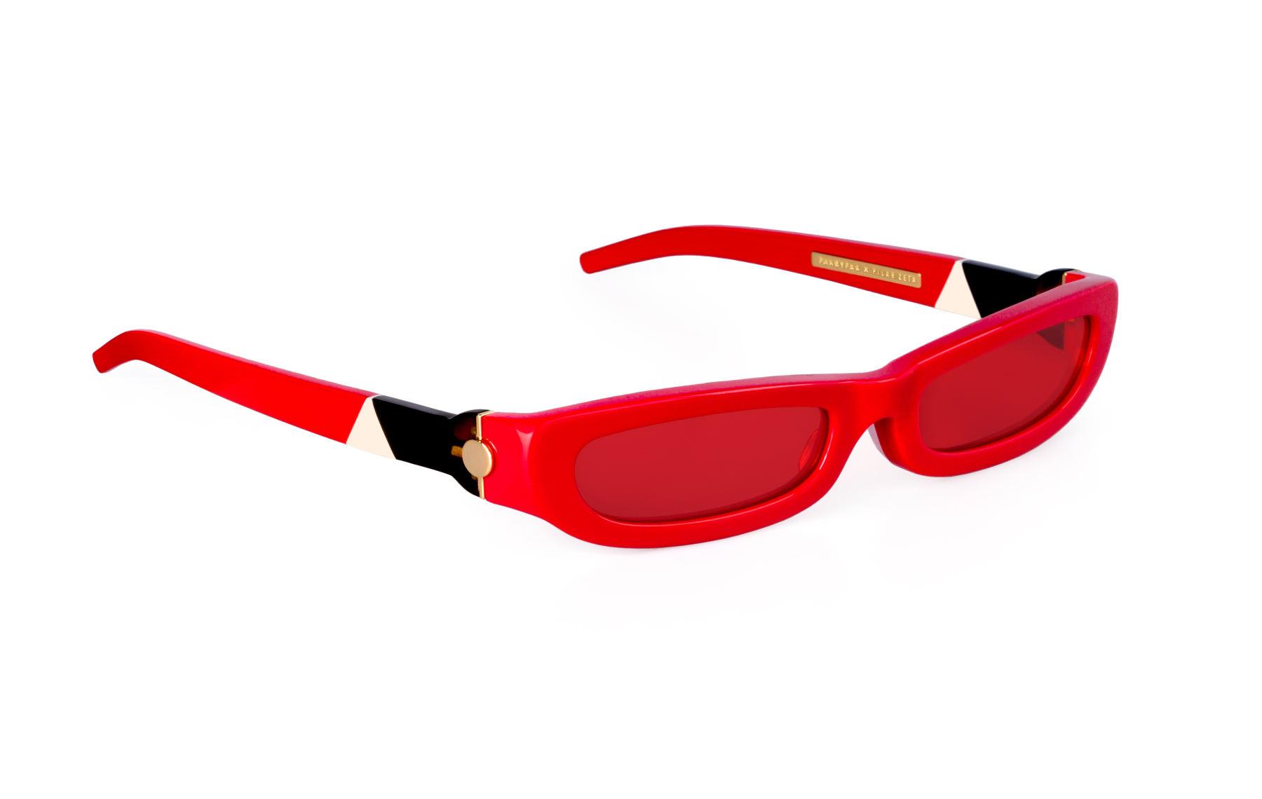 FAKBYFAK x Pilar Zeta  SHARP. Sunglasses. Glossy Red Code: FBF-14-01-06