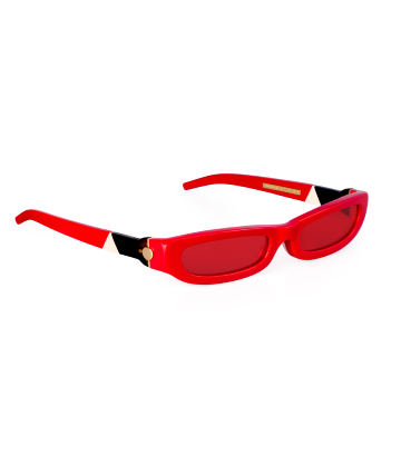 SHARP. Sunglasses. Glossy Red