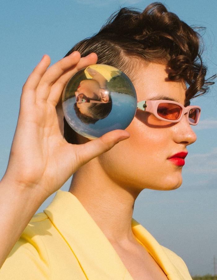 FAKBYFAK x Pilar Zeta  GRACE. Sunglasses. Matte Pink Code: FBF-14-02-05