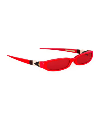 GRACE. Sunglasses. Glossy Red