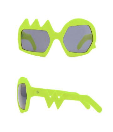 Lightning Sunglasses. Neon Yellow
