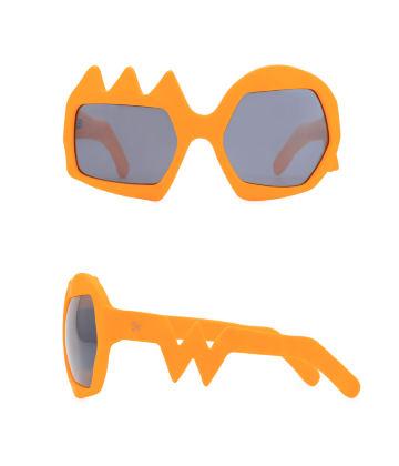 Lightning Sunglasses. Neon Orange
