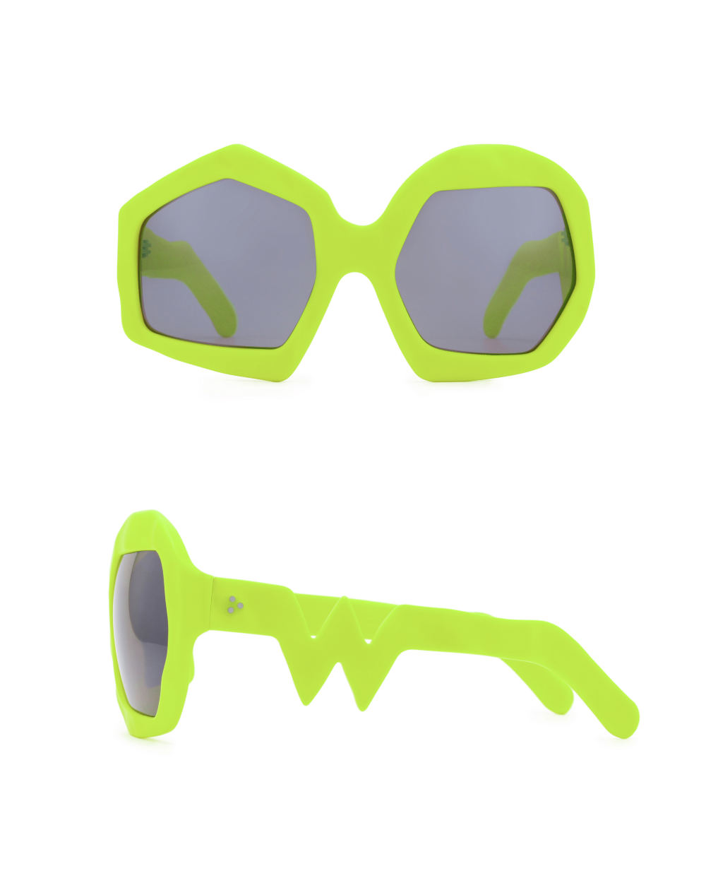 Thunder Sunglasses. Neon Yellow