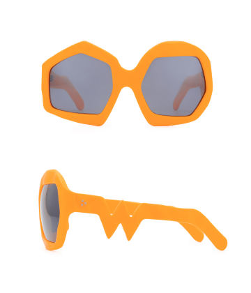 Thunder Sunglasses. Neon Orange