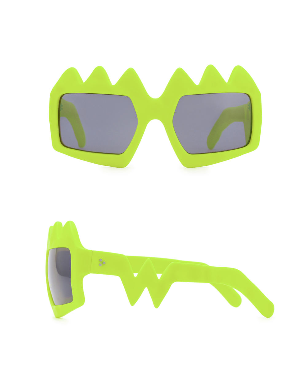 Bliksem Sunglasses. Neon Yellow