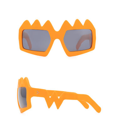 Bliksem Sunglasses. Neon Orange