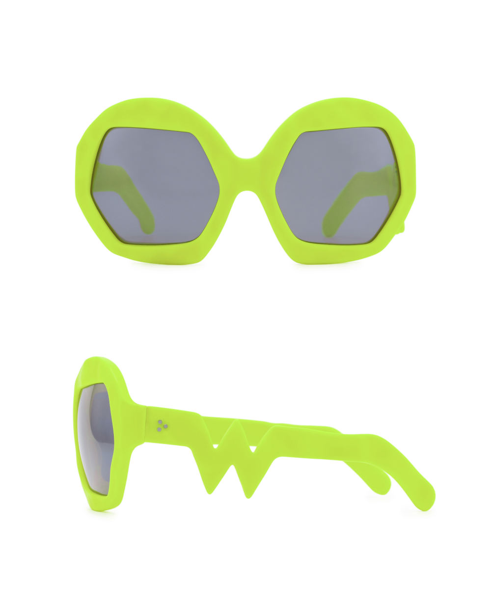 Donder Sunglasses. Neon Yellow