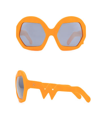 Donder Sunglasses. Neon Orange
