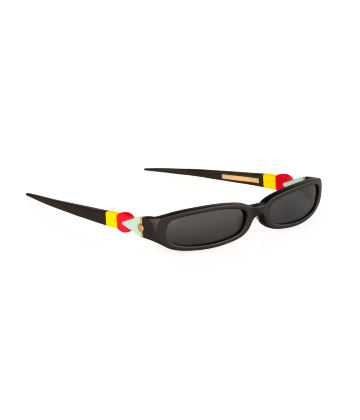 GRACE. Sunglasses. Classic Glossy Black