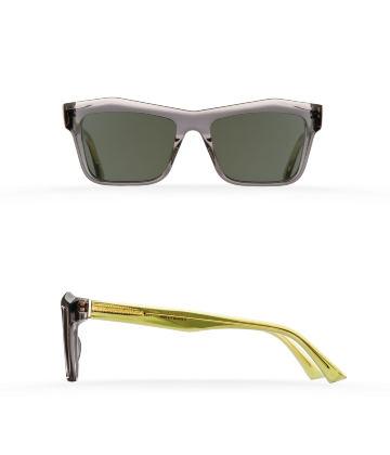 Fakfarer Model 1. Sun. Dark Grey Crystal + Crystal Green