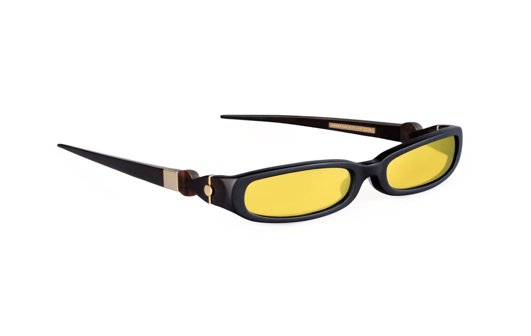 FAKBYFAK x Pilar Zeta  GRACE. Sunglasses. Matte Black & Gold Code: FBF-14-02-02