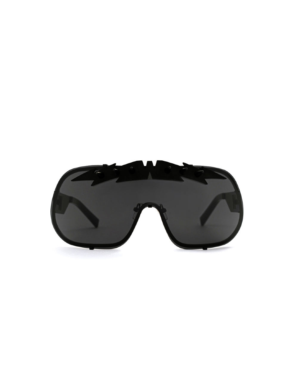 BlitZ Solar Shield Sunglasses. Black & Black Lightning