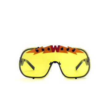 BlitZ Solar Shield Sunglasses. Yellow & Orange Lightning