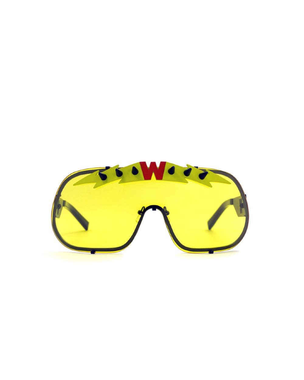 BlitZ Solar Shield Sunglasses. Yellow & Neon Lightning
