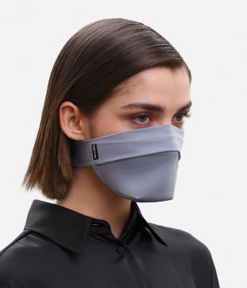The Vega. Ear Strap-Free High-End Protective Antibacterial (ATB-UV+) Face Mask. Grey