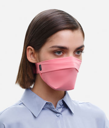 The Vega. Ear Strap-Free High-End Protective Antibacterial (ATB-UV+) Face Mask. Coral