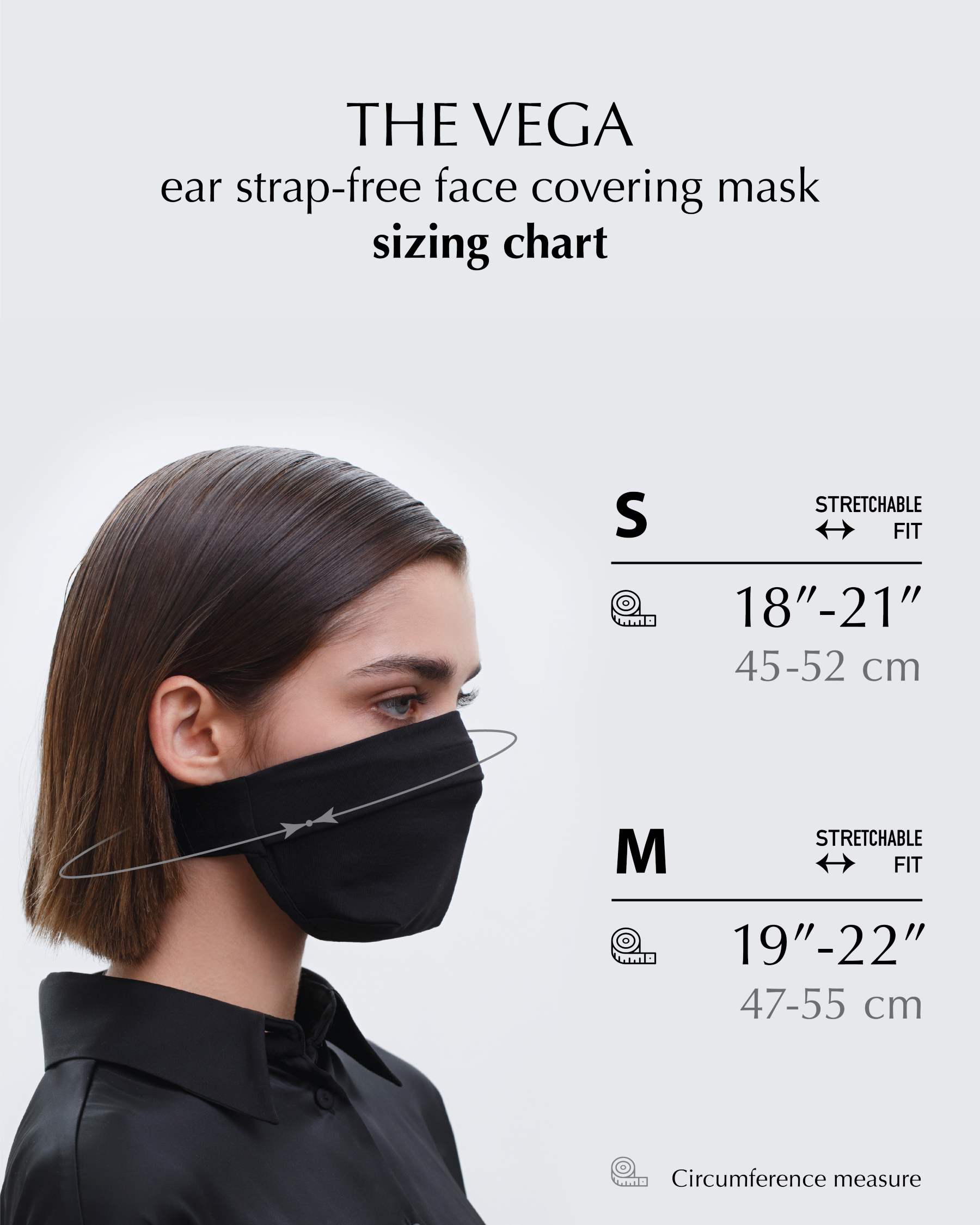 FAKBYFAK  The Vega. Ear Strap-Free High-End Protective Antibacterial (ATB-UV+) Face Mask. Coral Code: FBF-42101-04