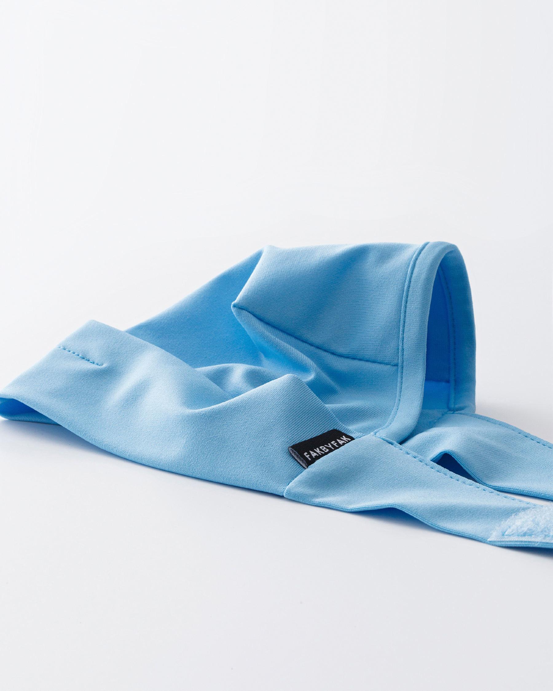 FAKBYFAK  The Vega. Ear Strap-Free High-End Protective Antibacterial (ATB-UV+) Face Mask. Light Blue Code: FBF-42101-05