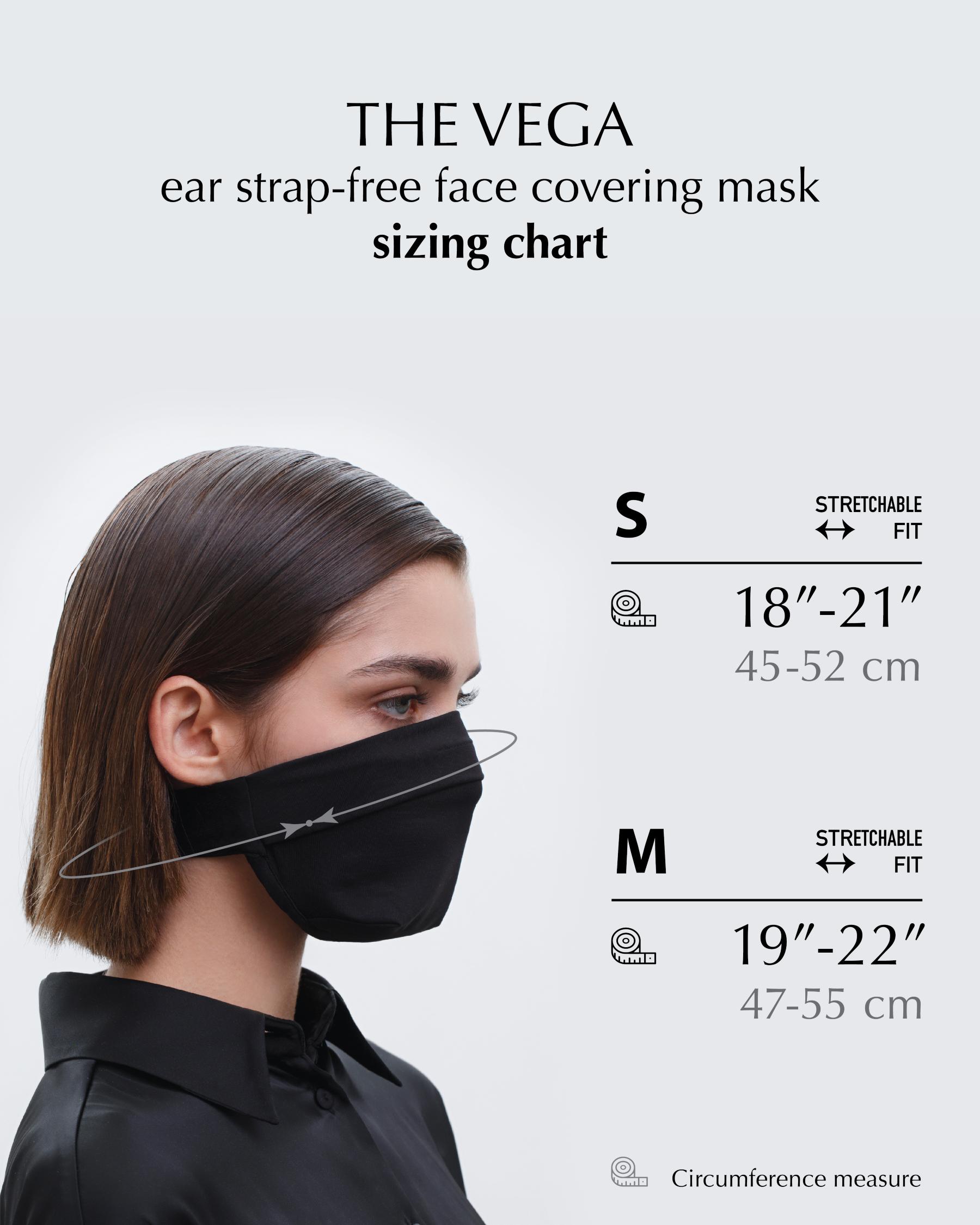 FAKBYFAK  The Vega. Ear Strap-Free High-End Protective Antibacterial (ATB-UV+) Face Mask. White Code: FBF-42101-06