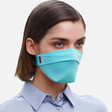 The Vega. Ear Strap-Free High-End Protective Antibacterial (ATB-UV+) Unisex Face Mask. Mint