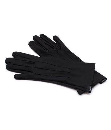 The Vega. Fine Protective Antibacterial (ATB-UV+) Unisex Gloves. Black