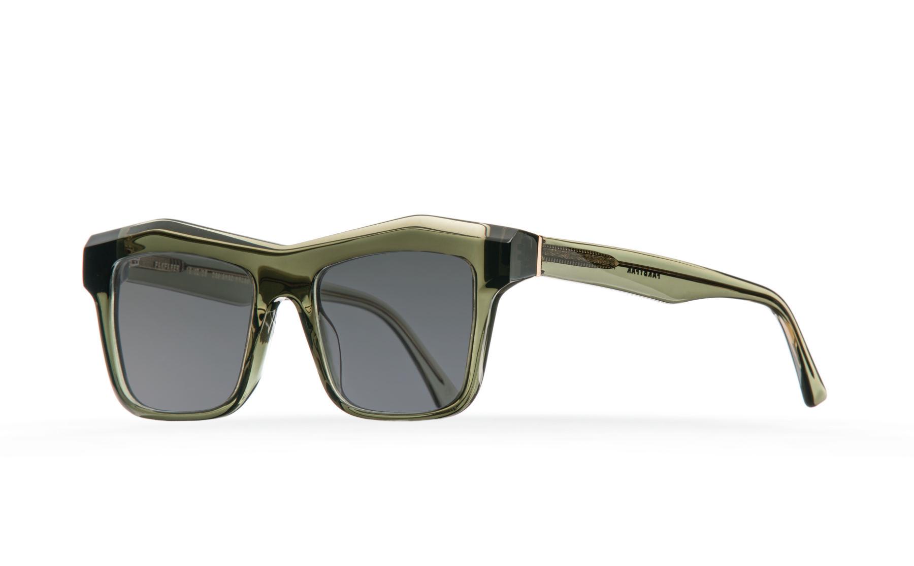FAKBYFAK  Fakfarer Model 2. Sun. Green Grey Crystal Code: FBF-19-02-17