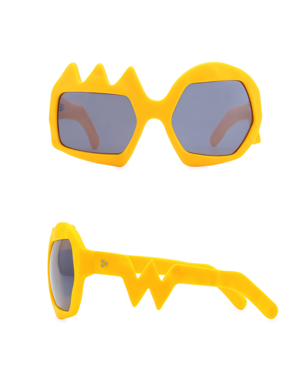 Lightning Sunglasses. Zinnia Orange