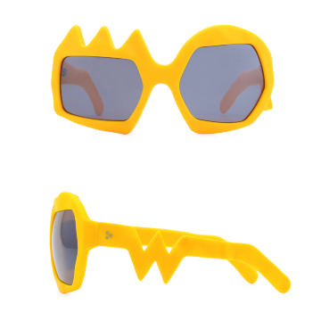 Lightning Sunglasses. Zinnia Orange
