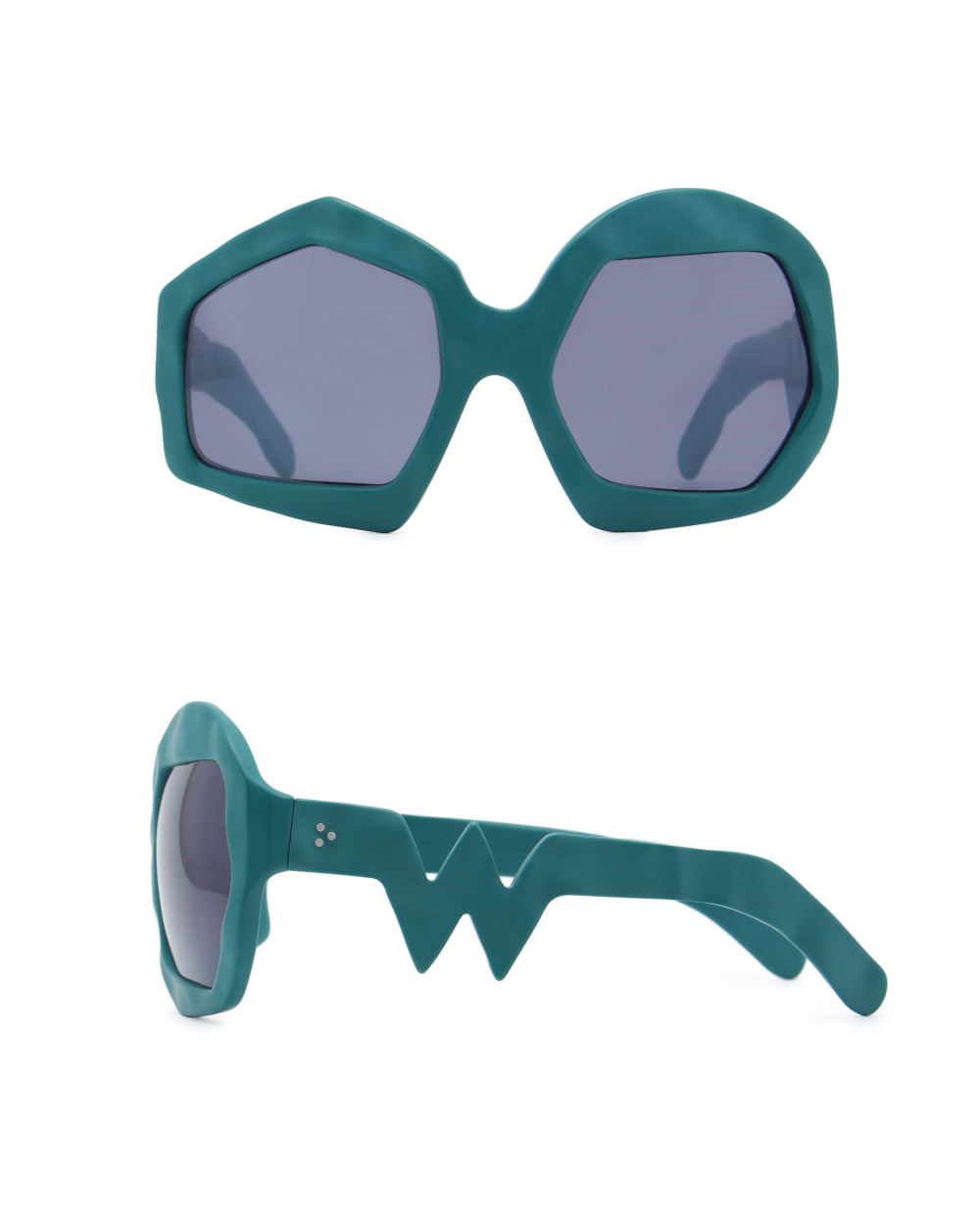 Thunder Sunglasses. Petrol Green