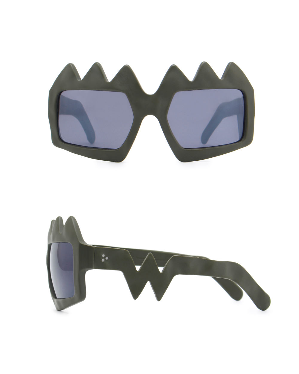 Bliksem Sunglasses. Military Green