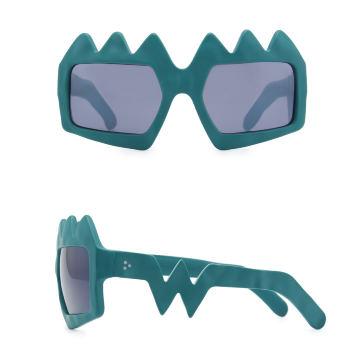 Bliksem Sunglasses. Petrol Green