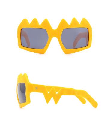 Bliksem Sunglasses. Zinnia Orange