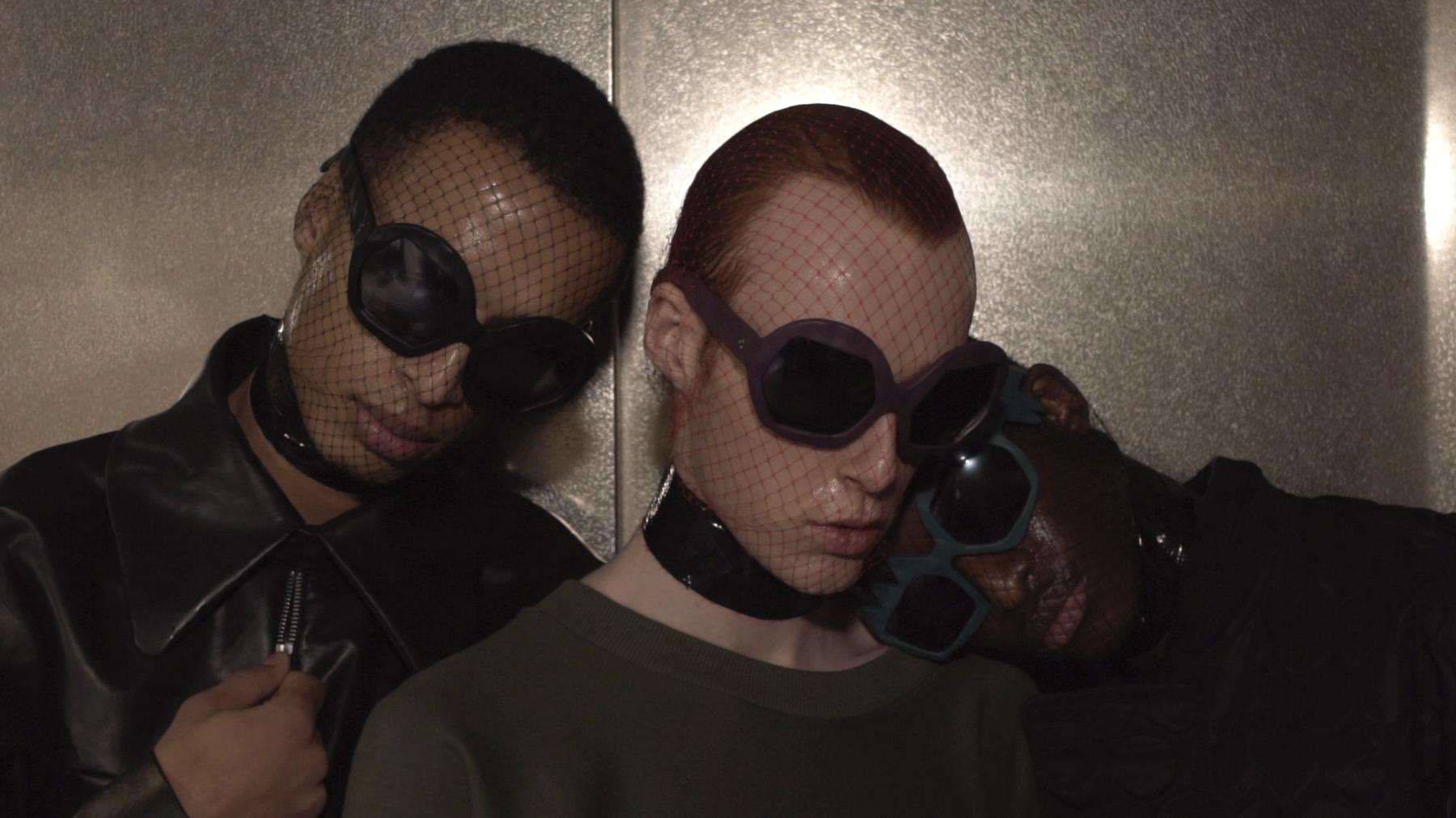 FAKBYFAK x Walter Van Beirendonck  Donder Sunglasses. Black Code: FBF-09-14-01