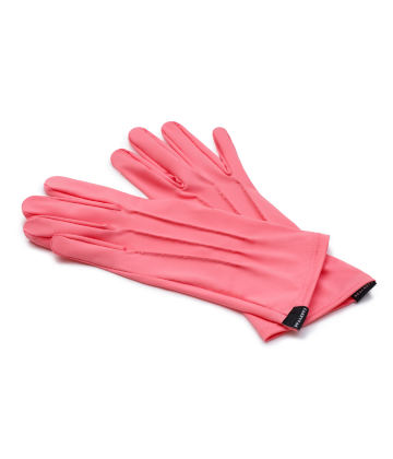 The Vega. Fine Protective Antibacterial (ATB-UV+) Unisex Gloves. Coral