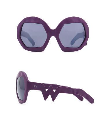 Donder Sunglasses. Purple