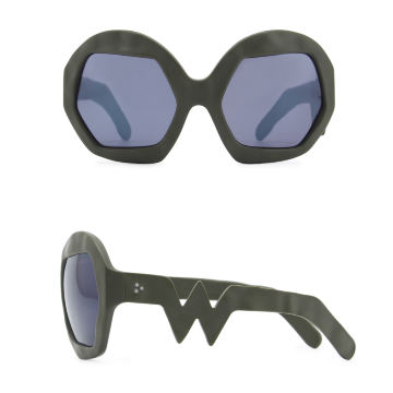 Donder Sunglasses. Military Green