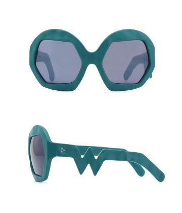 Donder Sunglasses. Petrol Green