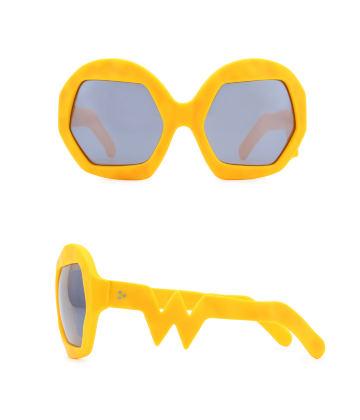 Donder Sunglasses. Zinnia Orange