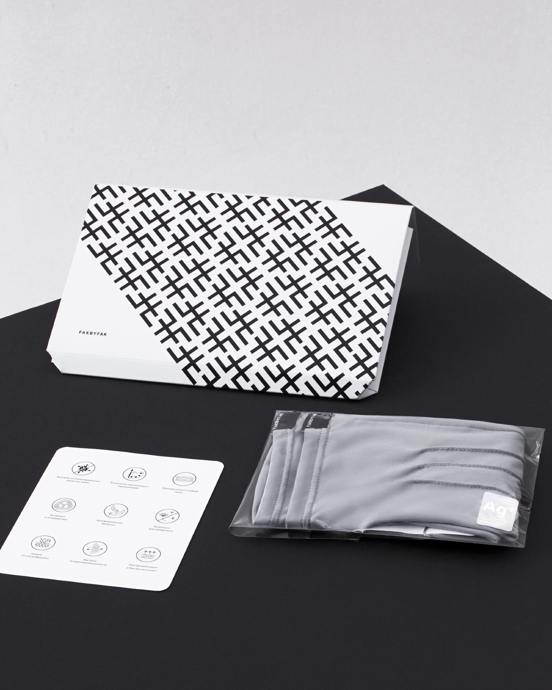 FAKBYFAK  The Vega. Fine Protective Antibacterial (ATB-UV+) Unisex Gloves. White Code: FBF-41101-06