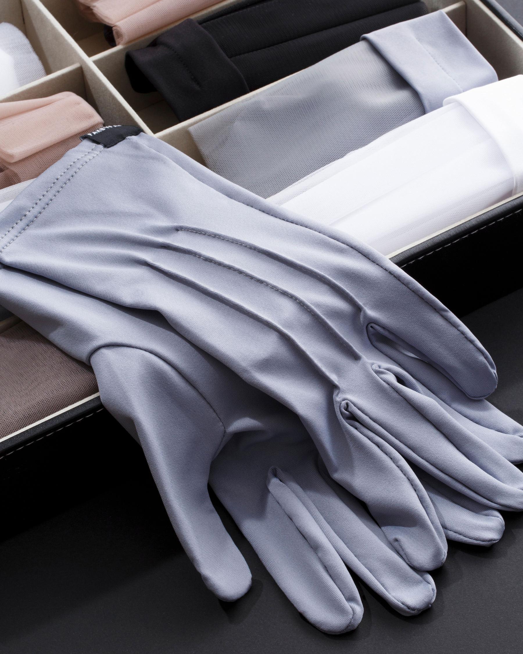 FAKBYFAK  The Vega. Fine Protective Antibacterial (ATB-UV+) Unisex Gloves. Grey Code: FBF-41101-03