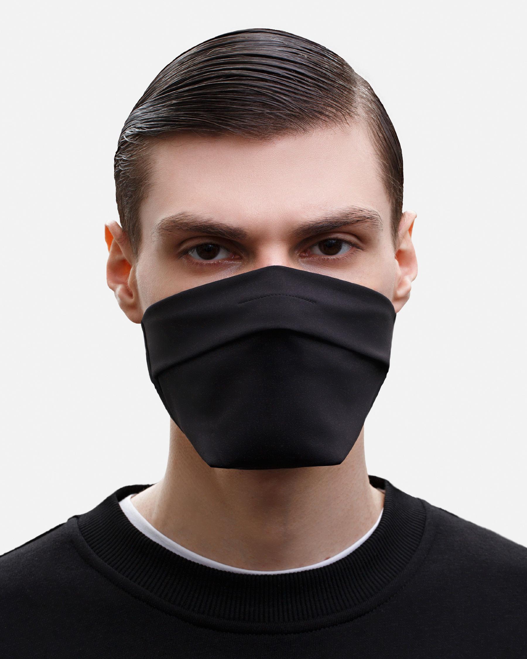 FAKBYFAK  The Vega. Ear Strap-Free High-End Protective Antibacterial (ATB-UV+) Face Mask. Black Code: FBF-42101-71